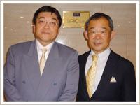 点滴療法研究会 会長 柳澤厚生先生と